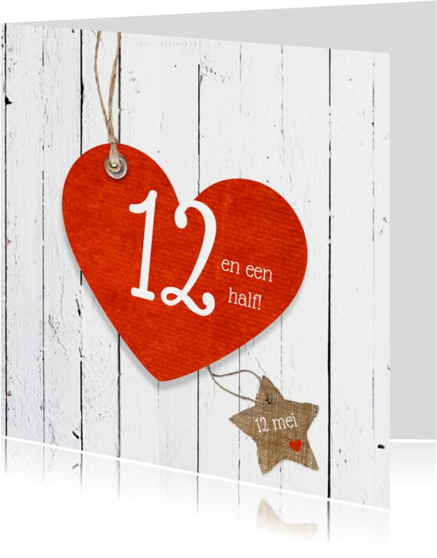 Jubileumkaarten - 12,5 Jaar vrolijk jubileum