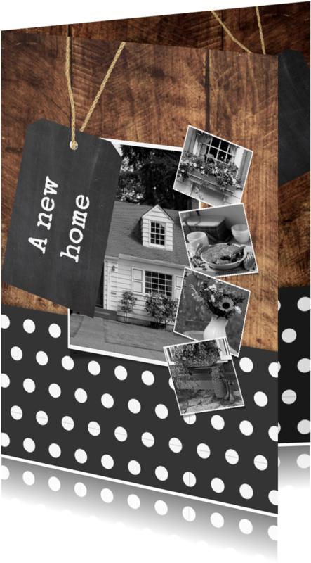 Verhuiskaarten - A new home for us - DH