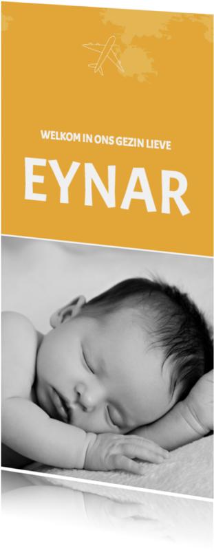 Geboortekaartjes - Adoptiekaartje_Eynar_SK