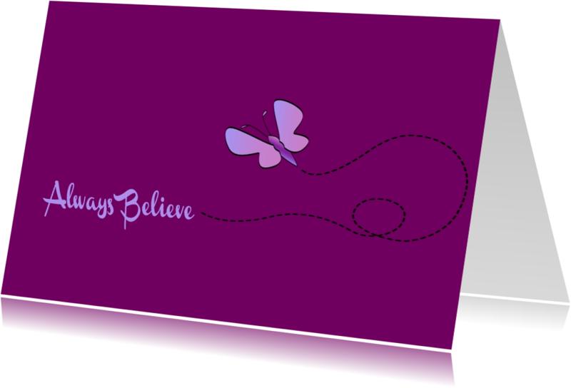 Religie kaarten - Always believe