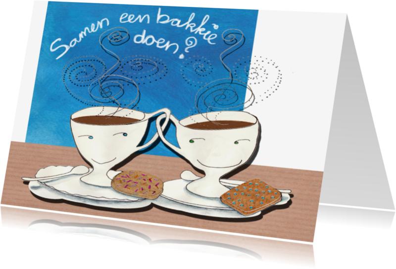 Uitnodigingen - Bakkie Koffie