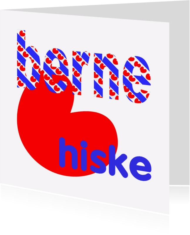 Fryske kaartsjes - Berne Hiske - AW