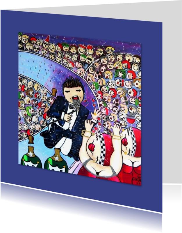 Geslaagd kaarten - Blanco kaart, Hoera Yva
