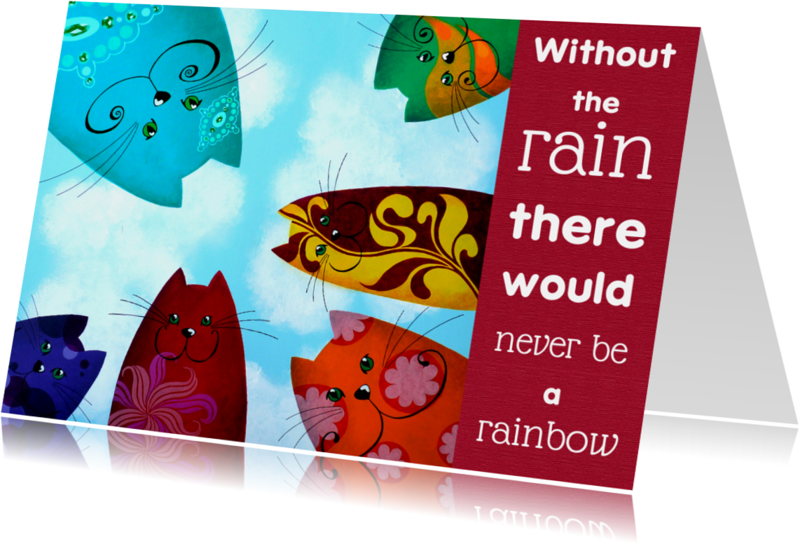 Coachingskaarten - Coachingskaart katten rainbow