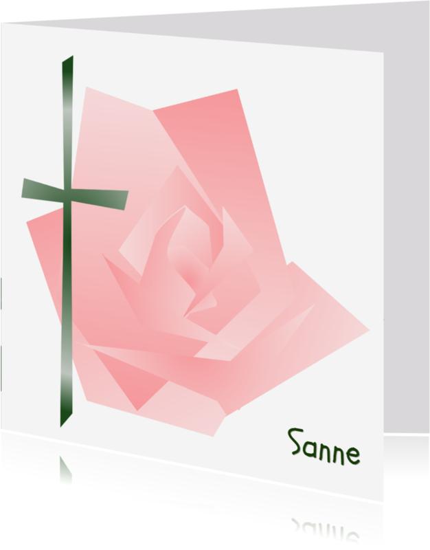 Condoleancekaarten - Condoleance B Roos - AW
