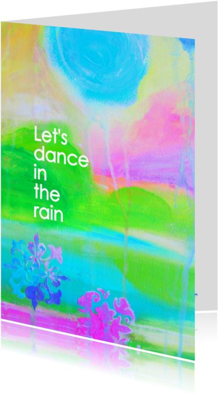 Coachingskaarten - Dance in the rain