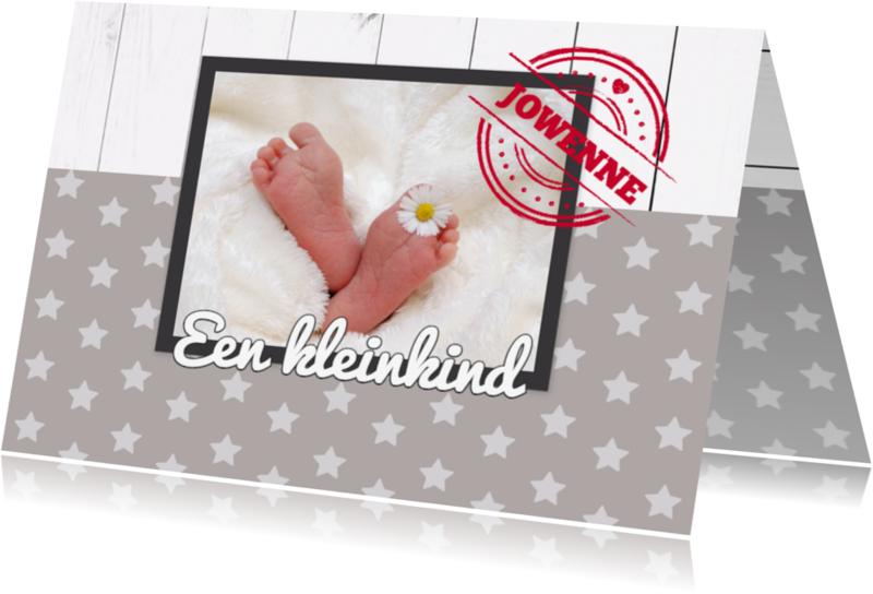 Felicitatiekaarten - Een kleinkind, hoera - DH
