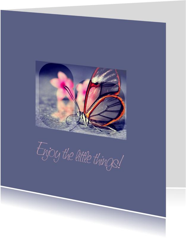 Religie kaarten - Enjoy the little things