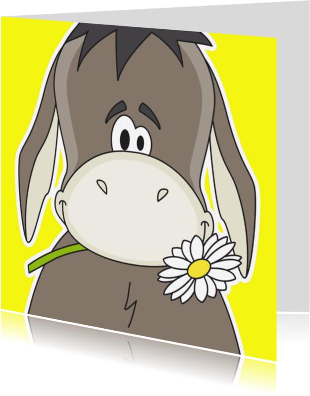 Sorry kaarten - Ezel sorry by Heppie Kids