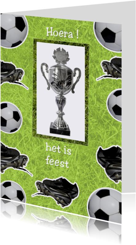 Kinderfeestjes - feest voor voetbal