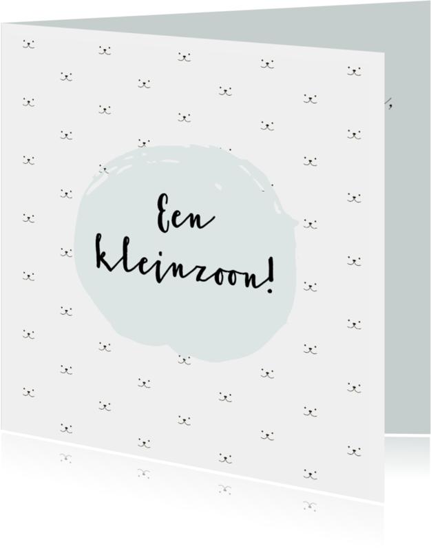 Felicitatiekaarten - Felicitatie (klein)kind