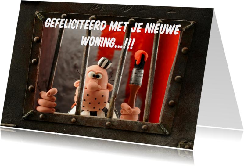 Felicitatiekaarten - Felicitatiekaart met Boef Brom