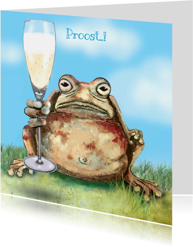 Felicitatiekaarten - Felicitatiekaart Proosten op...