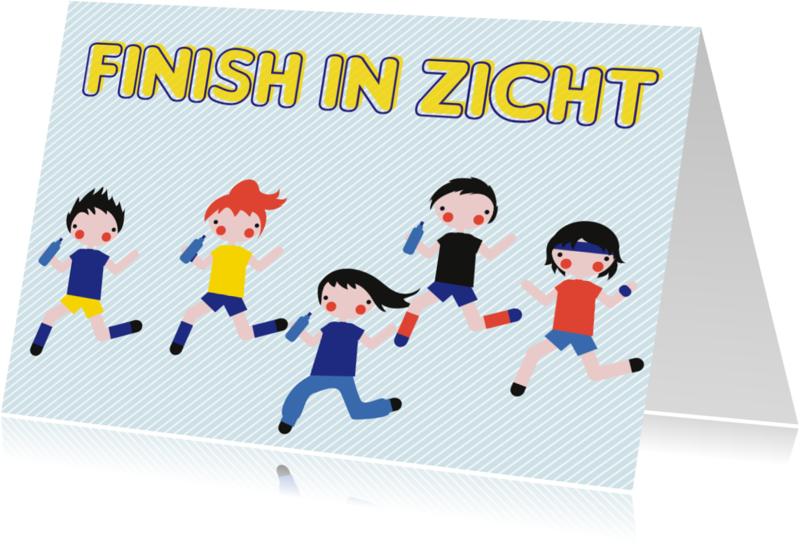 Coachingskaarten - Finish in zicht