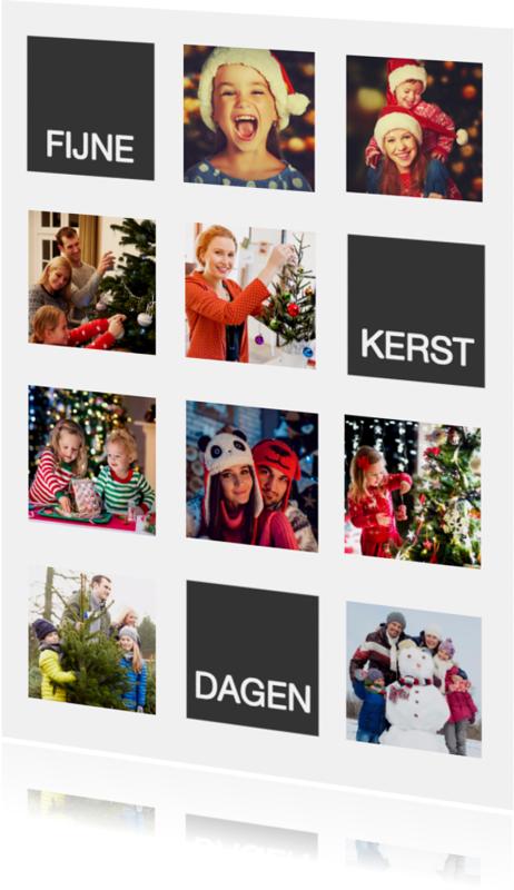 Kerstkaarten - Fotokaart kerst - SU