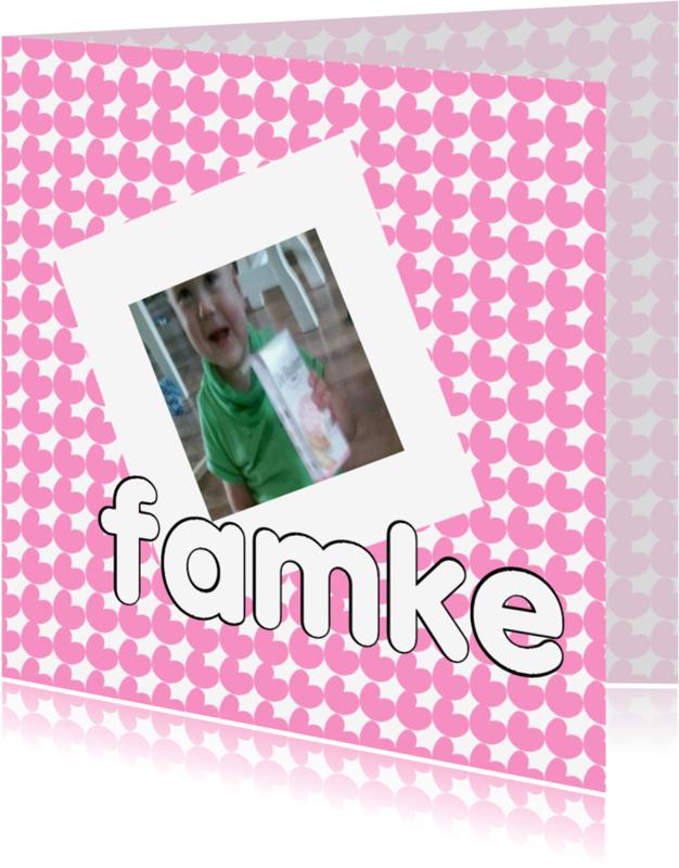 Fryske kaartsjes - Frysk Famke - AW
