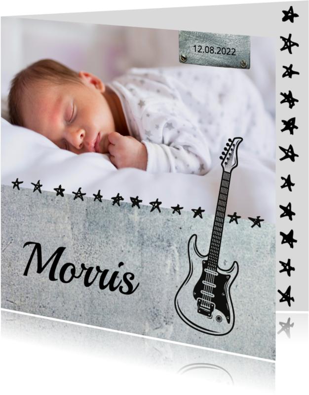 Geboortekaartjes - Geboortekaartje_Morris_SK