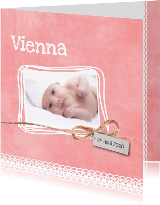 Geboortekaartjes - Geboortekaartje_Vienna_SK