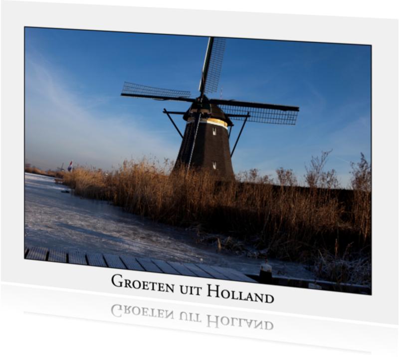 Ansichtkaarten - Groeten uit Holland XXVII
