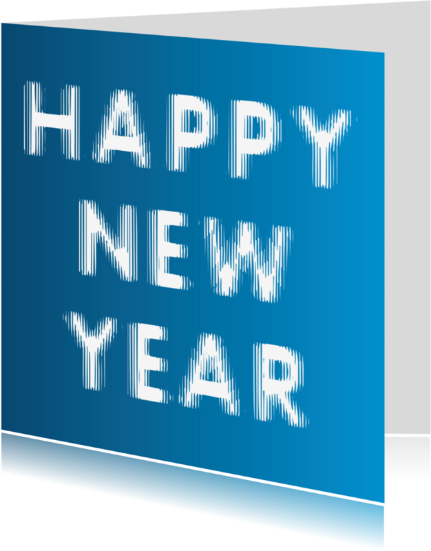 Nieuwjaarskaarten - Happy New Year (onscherp)