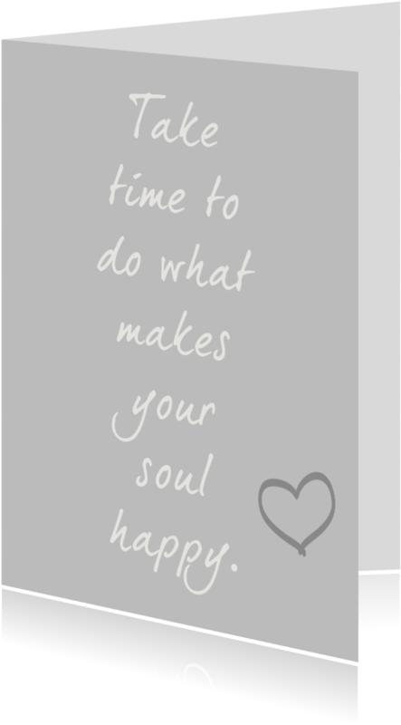 Coachingskaarten - Happy soul