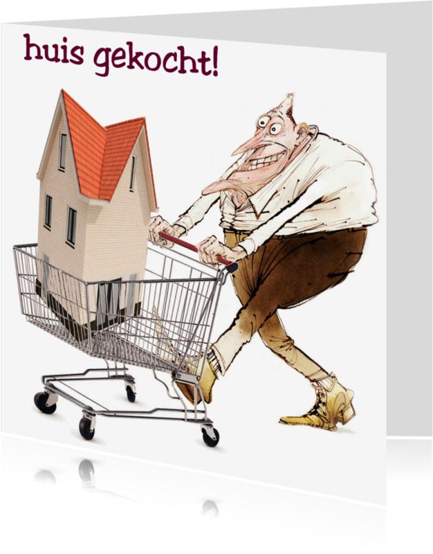 Verhuiskaarten - huis gekocht
