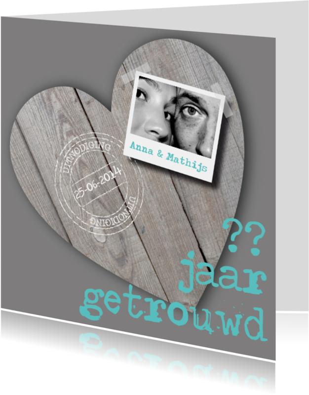 Jubileumkaarten - Huwelijksjubileum Stoer en Lief