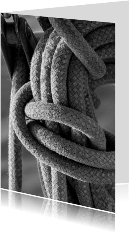 Jubileumkaarten - in de touwen