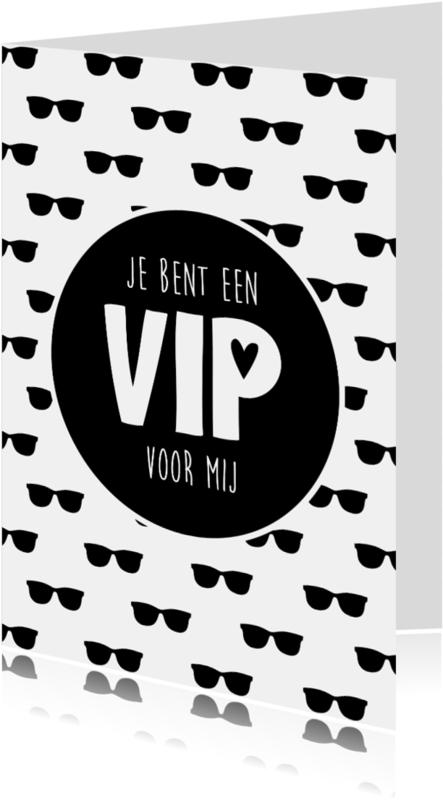 Liefde kaarten - Je bent een VIP voor mij!