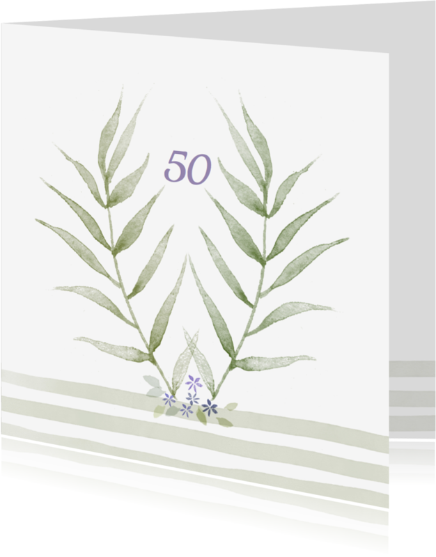 Jubileumkaarten - Jubileumkaarten 50 jaar 2YO