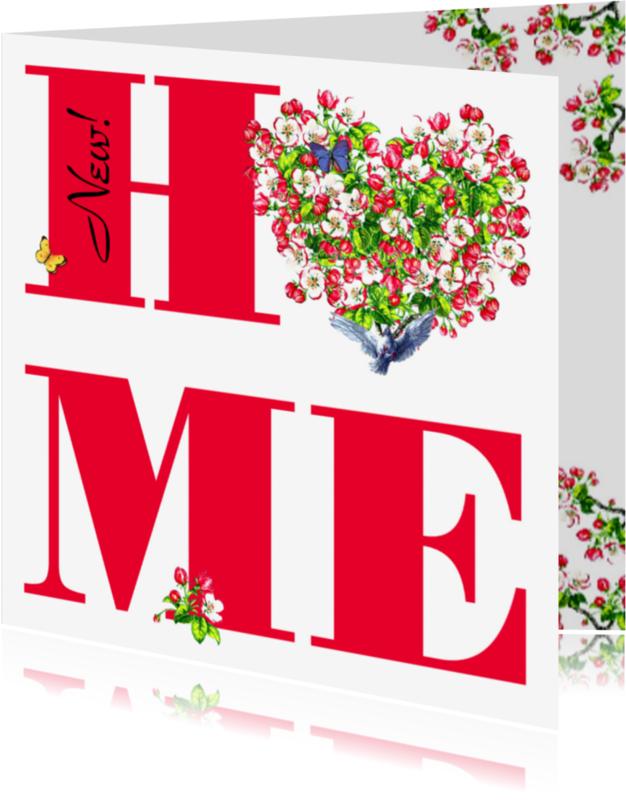 Verhuiskaarten - KendieKaart-Verhuizen-Hearts