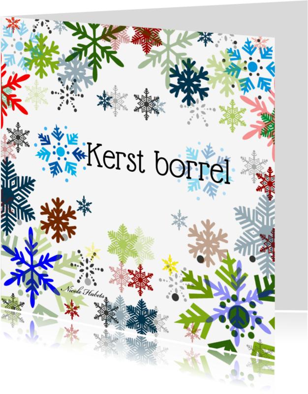 Uitnodigingen - Kerst borrel Nicole Habets