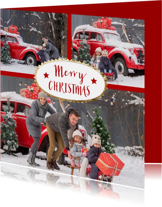 Kerstkaarten - Kerst collage - OT