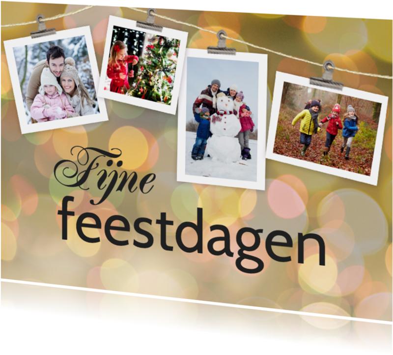 Kerstkaarten - Kerstkaart fotoslinger - SU
