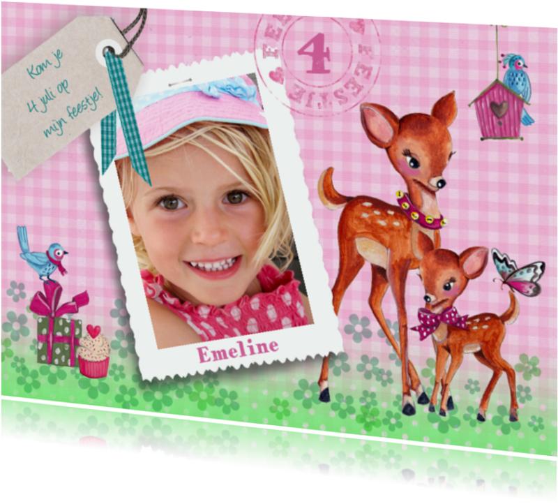 Kinderfeestjes - Kinderfeestje Hertjes Meisje