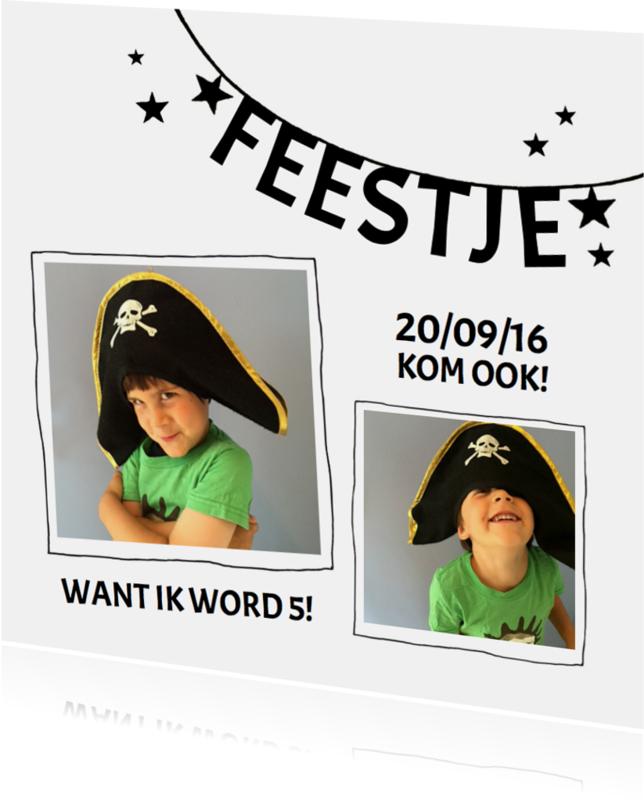 Kinderfeestjes - Kinderfeestje piraat slinger