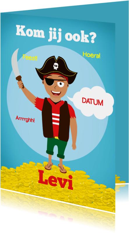 Kinderfeestjes - Kinderfeestje piraat!