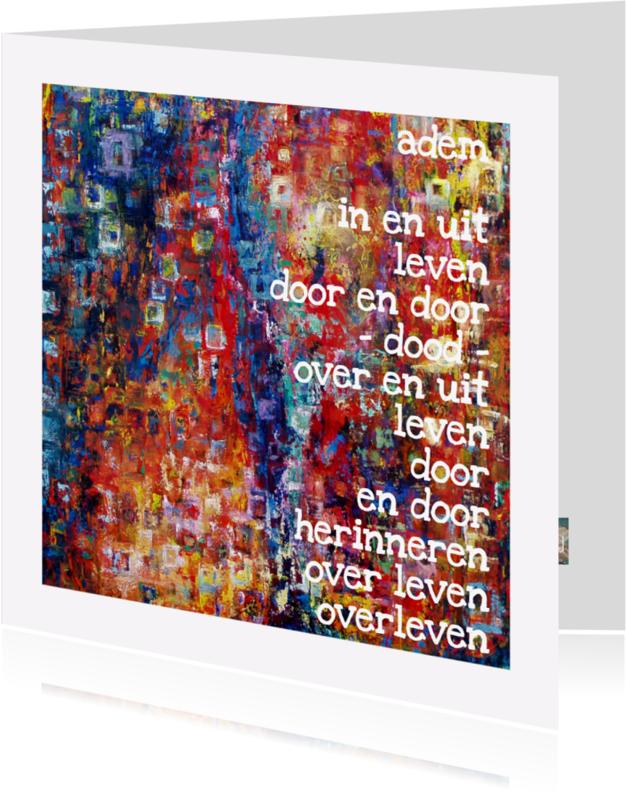 Kunstkaarten - Kunstkaart Ademen AdLJ