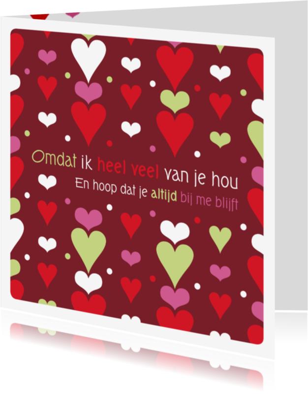 Liefde kaarten - Liefde hart 9