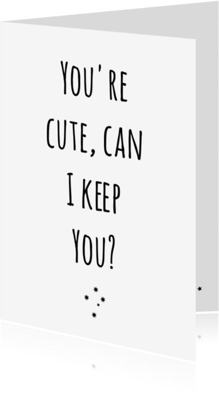 Liefde kaarten - liefde kaart Keep you
