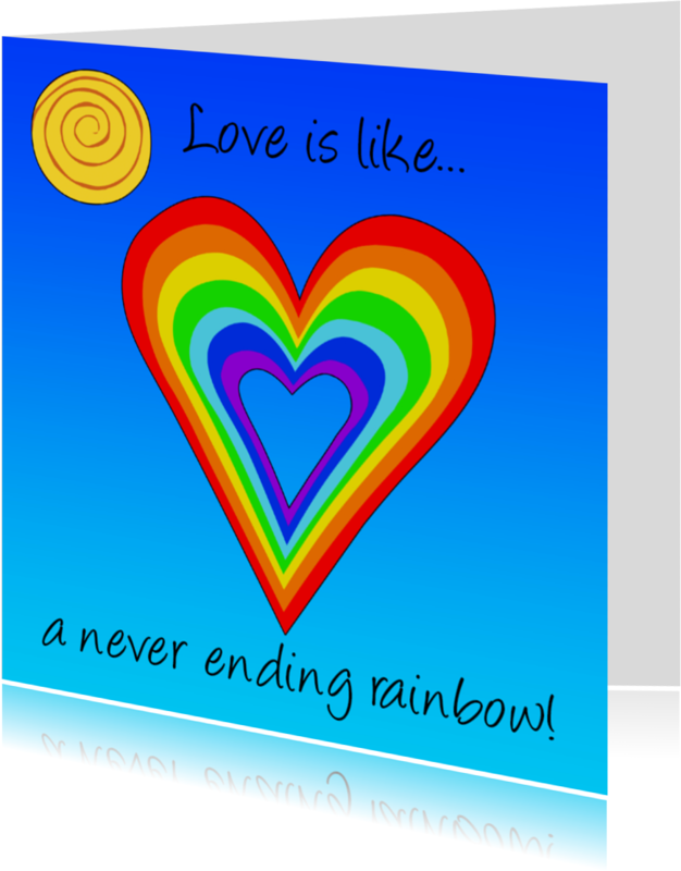 Liefde kaarten - Liefde kaart met