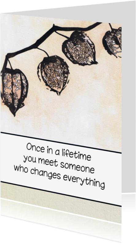 Liefde kaarten - Liefde Of Vriendschapskaart