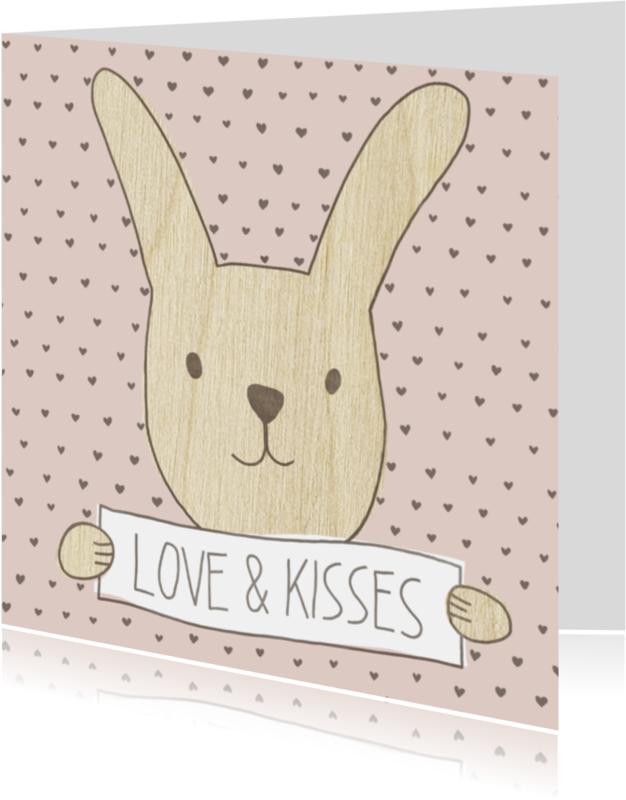 Liefde kaarten - Love & kisses