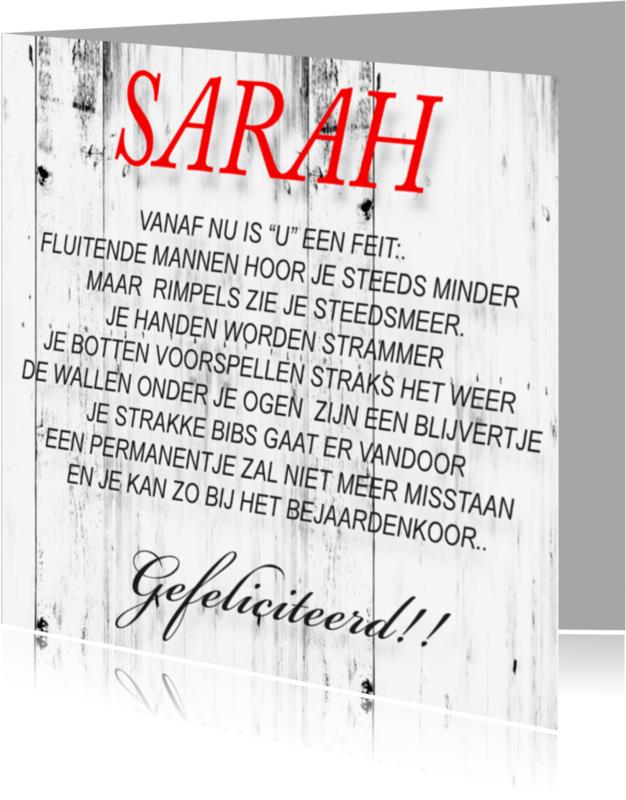 Verjaardagskaarten - made4you-sarah