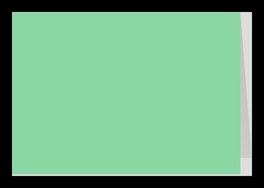 Zomaar kaarten - Mint dubbel liggend