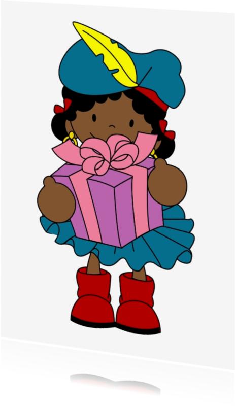 Sinterklaaskaarten - Pakjes Piet 1a