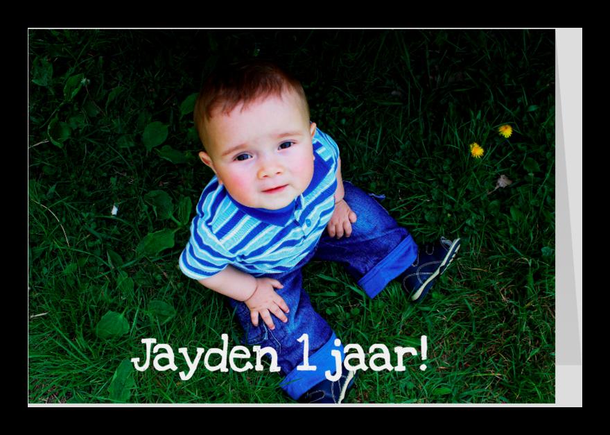 Verjaardagskaarten - Piraten fotokaart Eigen Foto