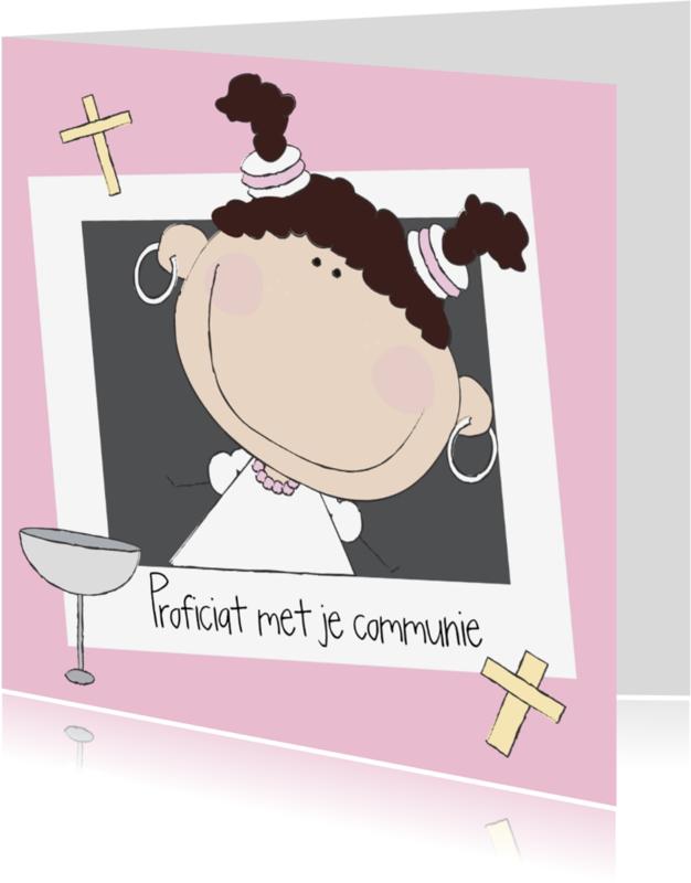 Felicitatiekaarten - Proficiat met je communie 3