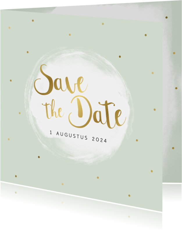 Trouwkaarten - Save the date kaart - WW