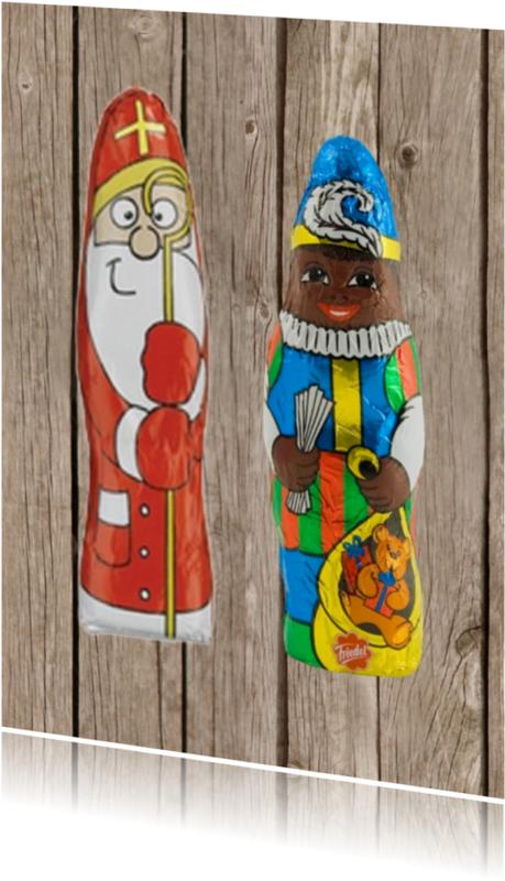 Sinterklaaskaarten - Sint 002